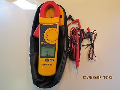 Fluke 902 True RMS HVAC Clamp Meter in Excellent Condition.