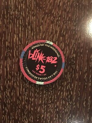 Blink 182 palms Chip Kings Of The Weekend Las Vegas