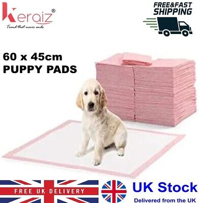 Keraiz Puppy Toilet Training Pee Wee Pet Mats, Large Blue, 60cm x 60cm