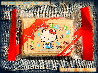 ☕ SANRIO RARE VINTAGE 1976 Saponetta Biscotto Collectible Soap Bar Biscuit Sweet