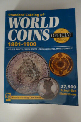 Krause Standard Catalog of World Coins 1801-1900 8th Price Guide