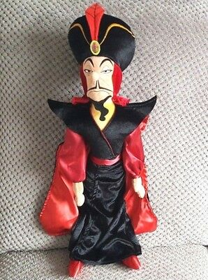 Disney Store Jafar Plush Soft Toy Villain From Aladdin Large 60cm Tall VGC