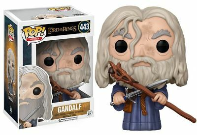 Funko Pop! Movies Action Figure Vinyl Lord of the Rings GANDALF #443