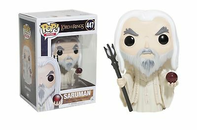 Funko Pop! Movies Action Figure Vinyl Lord of the Rings SARUMAN #447