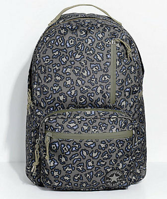 f5c12d077286 Converse Go Pack Women s Backpack Olive Leopard Print