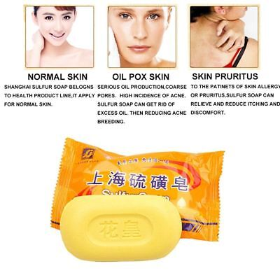 1/5/10 Pcs Exfoliation Body Cleansing Product Skin Care Anti Acne Sulfur Soap