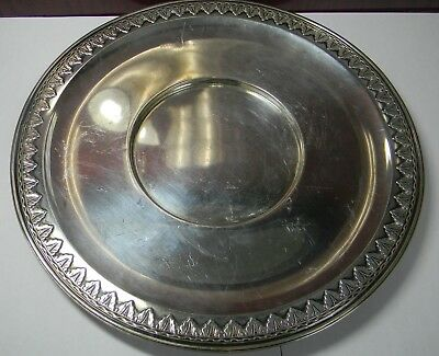 Tiffany & Company M Sterling Serving Tray/plate