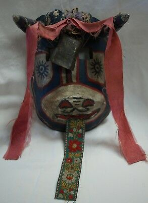 Mexican Cow Mask W/ Bell & Ribbons