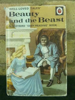 Vintage Ladybird book well loved tales Beauty and the Beast series 606D price 40