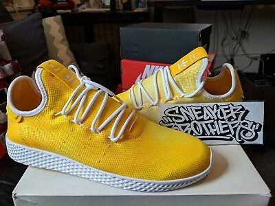 0de66735c8bfa Adidas Originals PW Tennis Hu Holi Pharrell Williams Bright Yellow White  DA9617