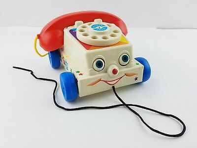 Fisher Price Mattel 2009 Chatter Telephone Children's Pull Toy Reproduction