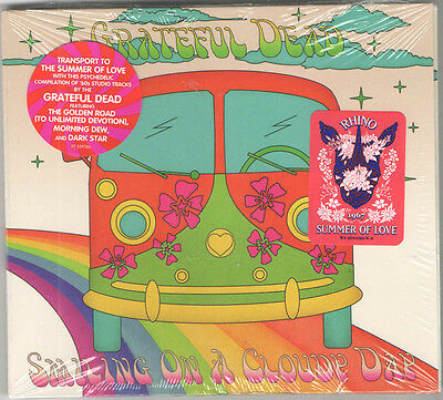 The Grateful Dead ‎- Smiling On A Cloudy Day CD - 2017 Rhino Summer of Love
