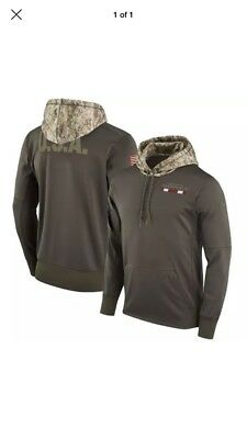 cheap for discount 4d51b 6040a NWT Nike Arizona Cardinals Salute To Service Womens Sweater Therma Hoodie  Camo M
