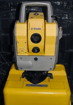 Trimble 5605 Robotic Total Station 5600 Series With Instrument Transport Case