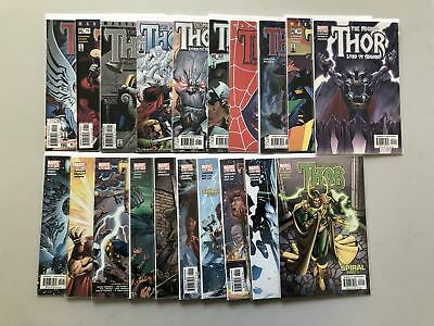 Lot of 20 Thor (1998-2004 2nd Series) from #45-64