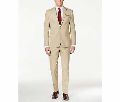 $755 BAR III men BROWN SLIM FIT COTTON SUIT JACKET BLAZER SPORTS COAT SIZE 38 R
