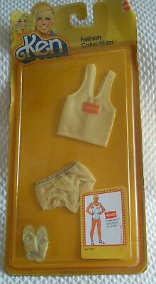 Vintage 1980s Ken Fashion Collectibles-Hanes Underwear #1931-New in Package