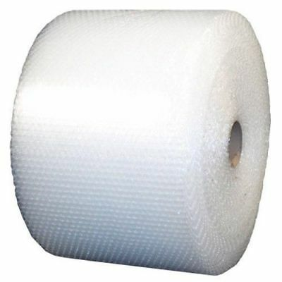 """3/16"""" Small Bubble Cushioning Wrap Clear Roll 2100' x 12"""" Wide 2100FT Perf 12"""""""