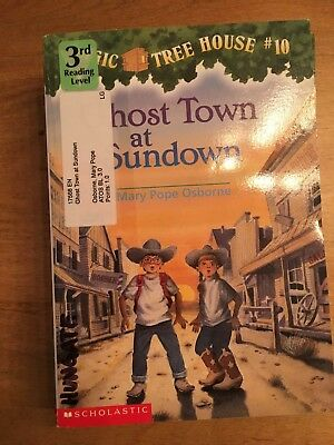 Magic Tree House (R): Ghost Town at Sundown 10 by Mary Pope Osborne (1997,...