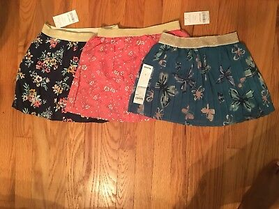 Girl's Floral Skirt's Size 5