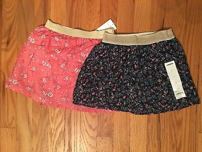 Girls Floral Skirt's Size 4