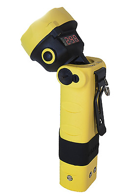 Adalit LED Hand Lamp ATEX L-3000 EX Protected incl. Charger 230V Fire Fighters