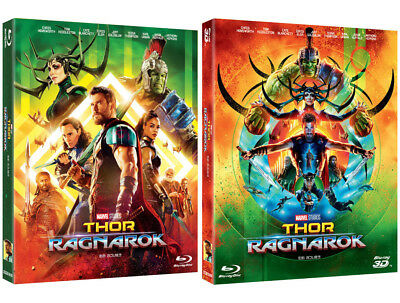 Thor: Ragnarok (2018, Blu-ray) Slip Case Edition / 2D only / 2D & 3D Combo