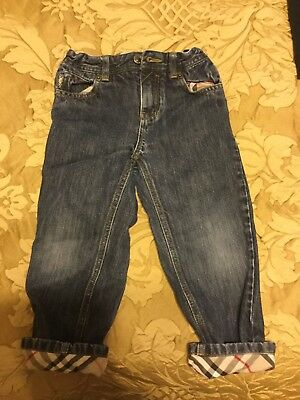 Burberry Toddler Jeans Size 4