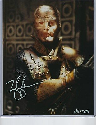 MARY KAY ADAMS (NA'TOTH) BABYLON 5 AUTOGRAPHED 8X10 COLOR PHOTO-in person signed