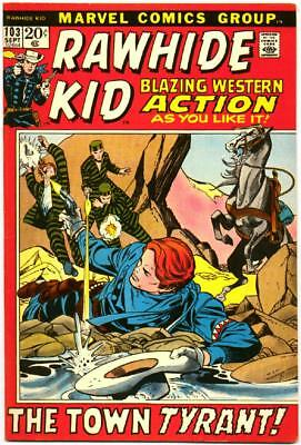 Rawhide Kid 103 Gil Kane Picture Frame Cover Marvel Bronze Age Western 1972 Bin