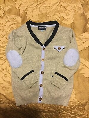 Andy and Evan Toddler Boys Cardigan size 4