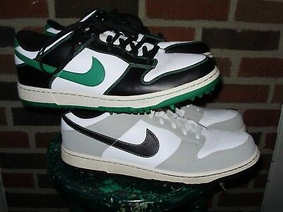 LOT OF 2 NIKE DUNK GOLF SHOES mens size 13 GOLFING