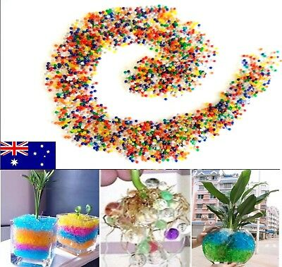 100g colourful biodegradable water bead crystal soil for garden , home decor