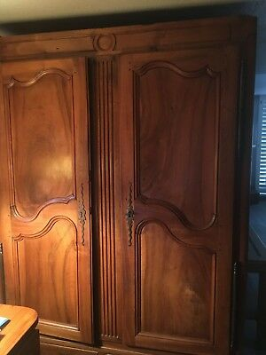 18 th century antique oak armoire  I Think