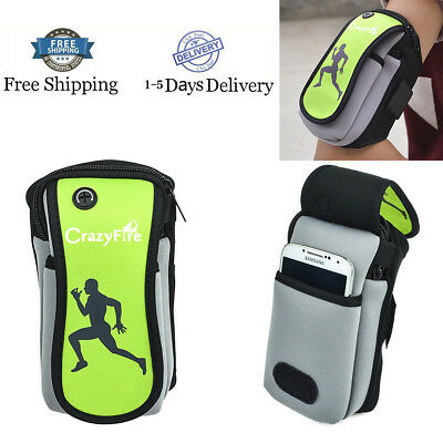 Big Armband Case Cover Running Jogging Arm Band Pouch Holder Bag For Cell Phone