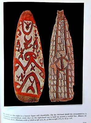 South PACIFIC Islands + Australia & NZ 62 tipped in color plates VINT ART BOOK