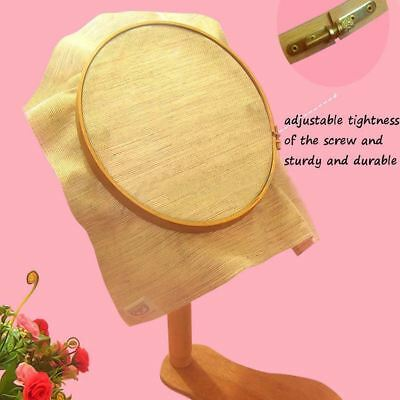 21cm Wooden Lap Seat Frame Elbesee For Cross Stitch Tapestry Embroidery Hoop