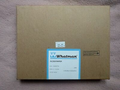 GE Whatman 3030-866 3mm Chr Cellulose Chromatography Paper 8inx10in