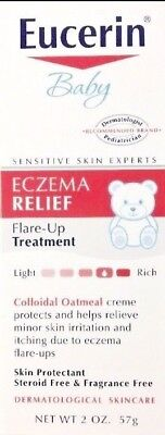 Eucerin Baby Eczema Relief Flare-up Treatment 2 oz Instant Therapy