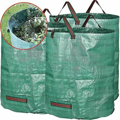 270L Large Garden Waste Bag Weeds Leaves Sack Heavy Reusable Duty Rubbish Bag