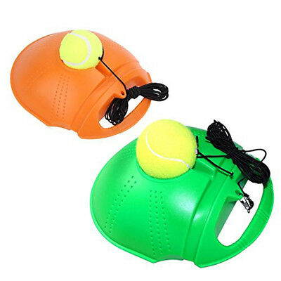 Self-study Tennis Training Tool Exercise Tennis Ball Rebound Ball Baseboard