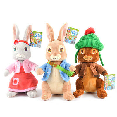 Peter Rabbit Soft Plush Stuffed Baby Doll Toy Lily Benjamin Plush Toys Gifts