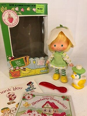 Vintage 1980s Strawberry Shortcake - Mint Tulip with Marsh Mallard