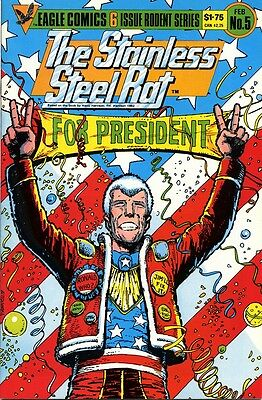 The Stainless Steel Rat for President by Harry Harrison - Eagle Comics adaption