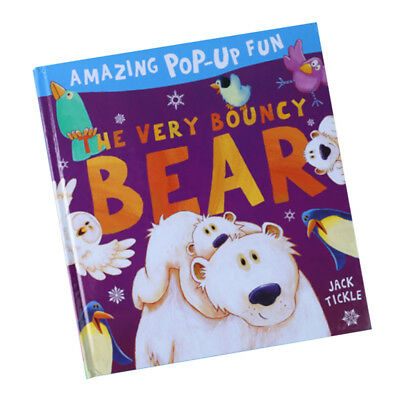 KIDS STORY LEARNING Activity Books Bedtime Stories - 3D Pop Up Books