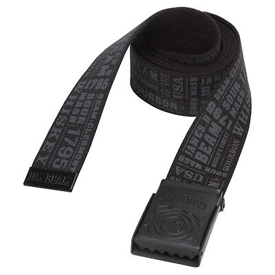 JIM BEAM BELT... OFFICIAL MERCHANDISE ... CLEARANCE bargain ONE SIZE FITS MOST