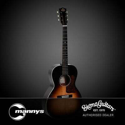 Sigma SG Series LM-SG00 00-14 Fret Acoustic Guitar w/ Solid Spruce Top & Pickup