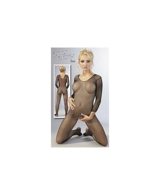 Catsuit Black Bodystocking Mandy Mystery
