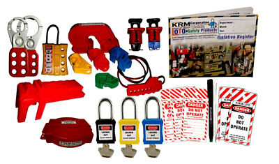 Krm Loto - Industrial Safety Lockout Kit 2