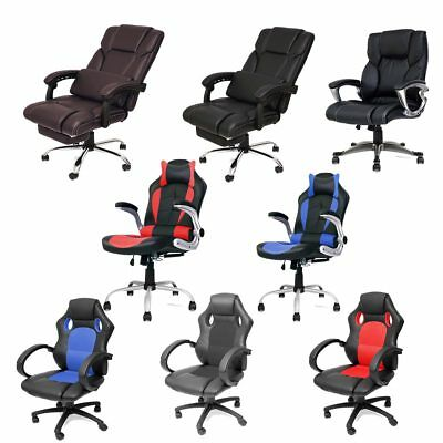 Highback Executive Ergonomic Swivel Office Computer Gaming Racing Chair Armchair